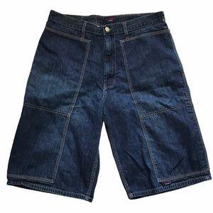 Vintage Men's Tommy Jeans Denim Shorts